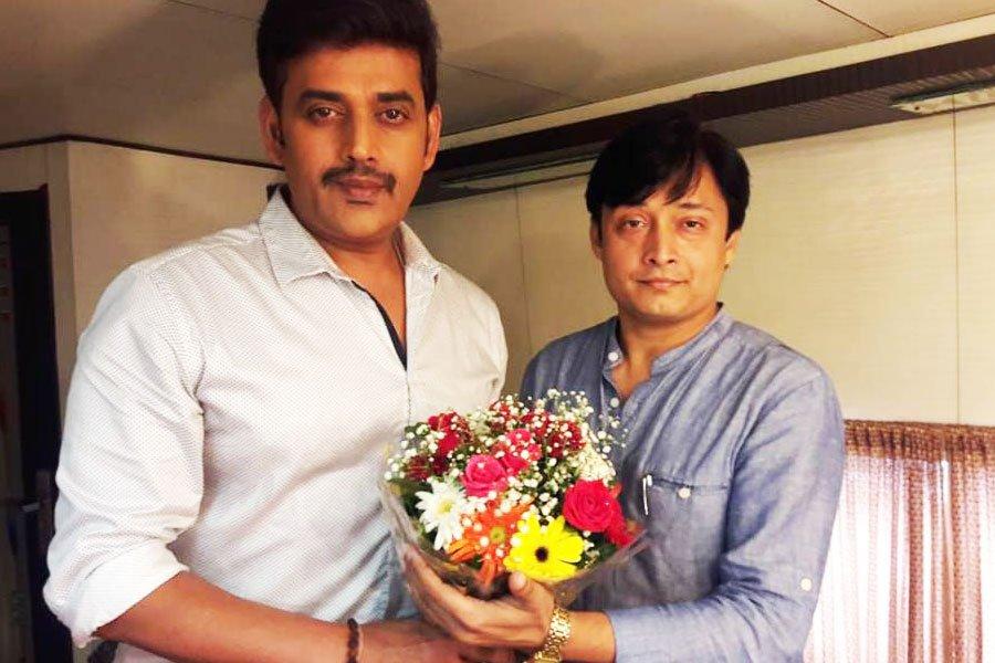 With Mr. Ravi Kishan (Hind Film Actor)
