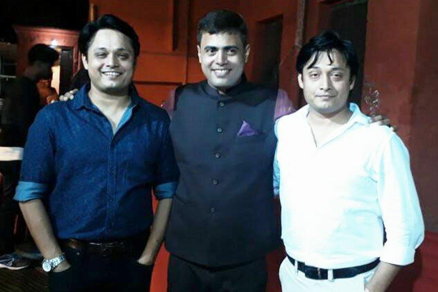 With Mr. Chandra Shekhar additional secretary, food & consumer protection, IAS, Bihar