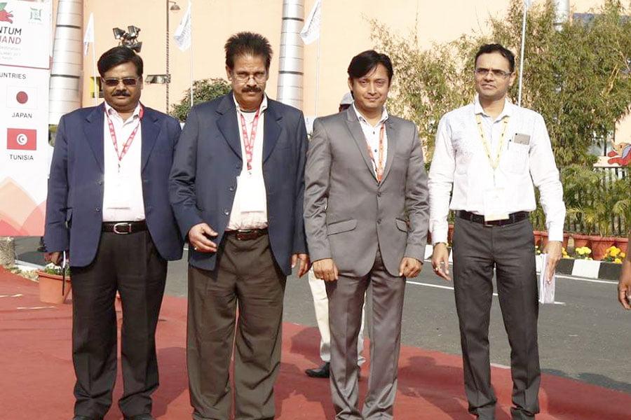 With Dr. Nitin Kulkarni, Secretary Health, along with Sri. Rajiv Kumar Director Fisheries and Horticulture